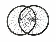 Ultra Light 700C Carbon Wheelset 24mm Clincher Carbon Road Bike Bicycle Wheels