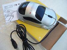 Souris informatique publicitaire AUTO MOTO en forme de voiture port USB neuve