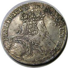 elf Germany Silesia 6 Kreuzer 1756 B