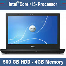 Dell Latitude E4310 - Intel Core i5 - 500Gb HDD - DVDRW - 4 GB RAM - Webcam