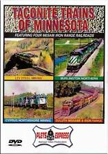 Taconite Trains of Minnesota DVD NEW Plets Burlington Northern LTV Steel DM&IR