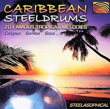Caribbean Steeldrums: 20 Famous Tropical Melodies- Calypso, Samba, New Music