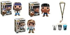 3 Funko POPs: Uncle Si, Willie, Jase + Duck Dynasty Lanyard & 3 Shot Glasses!!