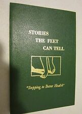 STORIES THE FEET CAN TELL by Eunice D. Ingham  1976 - unused w fold-out chart