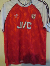 "Arsenal 1990-1992 Home Football Shirt Size 42""-44""  chest xl /39700"