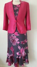 Jacques Vert Dress & Jacket~ Size 14 Wedding Outfit ~ Passion & Slate Range
