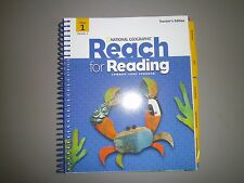Naional Geographic Reach for Reading, Gr 5,Unit 1 Teacher's Ed. Common Core 6687