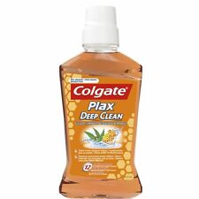 Colgate Plax Deep Clean Mouthwash for Hard to Reach Places & Fresh Breath 500ml