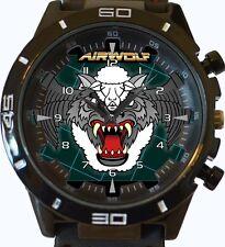 Airwolf logotipo Nuevo Gt Series de deportes Unisex Regalo Reloj