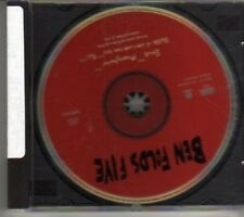 (BV921) Ben Folds Five, Brick - 1998 DJ CD