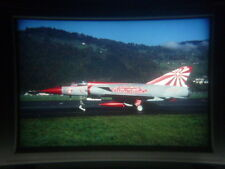 military aircraft slide Swiss Air Force Mirage III S J-2326 at Buochs (dvs)