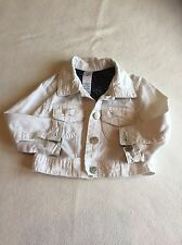 Baby Girls Clothes 9-12 Months - Cute Girl White Jacket -
