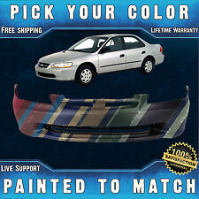 NEW Painted to Match - Front Bumper Cover for 1998-2000 Honda Accord Sedan 98-00