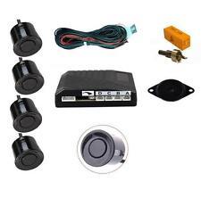 BLACK 4 Point POSTERIORE RETROMARCIA SENSORE DI PARCHEGGIO KIT CON Speaker-Mini R50 R52 R53