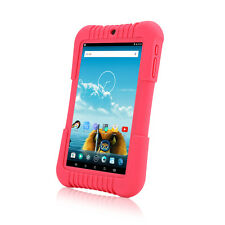 "iRULU 7"" IPS Android 5.1 Quad Core Pink BadyPad 1/16GB Child Learning Tablet PC"