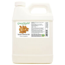 32 fl oz Sweet Almond Carrier Oil (100% Pure & Natural) Plastic Jug