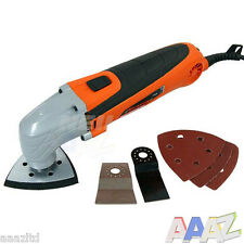300W Multi Tool Oscillating Scraper Sanding Sander Cutting With Accessorie Kit