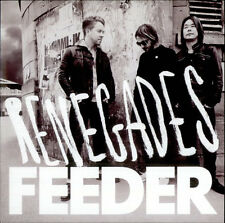 FEEDER RENEGADES NEW 7 INCH RED VINYL RECORD + NEW B SIDE SEVEN INCH SINGLE