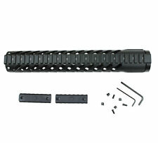 "(KM03) 12"" Tactical Free Float Rifle Length Handguard Keymod Quad Rail Barrel"