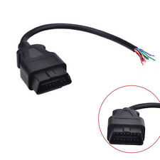 Car OBD2 OBD-II 16 Pin Male Extension Connector Diagnostic Opening Tool Cable