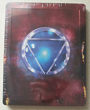 Iron Man 3 3D/2D Blu-Ray Steelbook Region Free Marvel Super Heroes Robery Downey