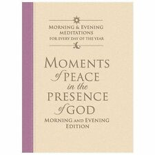 Moments of Peace in the Presence of God: Morning and Evening Edition Mauve-Vani