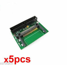 5pcs,Single Compact Flash CF to 3.5 IDE 40Pin Male adapter Card