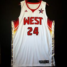 100% Authentic Kobe Bryant 2009 NBA All Star Pro Cut Jersey Size 52 2XL *