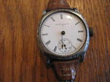 VINTAGE ELGIN WRIST WATCH & BAND NO HANDS OR LENS  SECOND HAND IS OK