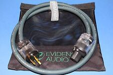 20' Power Cable ~ Evidence Audio The Source 20 ft  ~ FREE BAG