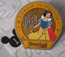 Snow White 60th Diamond Celebration Disneyland Resort Mystery Disney Pin