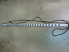 WireMold 2MV37 Power Strip, Surge Protector, 15A, 120V, 24 Outlet, 72 In