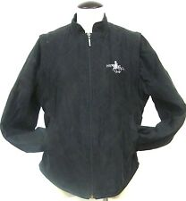 NEW ENGLAND DRESSAGE ASSOC. BLACK QUILTED RIDING EQUESTRIAN BARN JACKET VEST LG