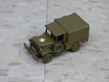 Roco / Herpa Minitanks  Painted WWII US Dodge 4x4 Weapon Carrier Truck Lot #706B