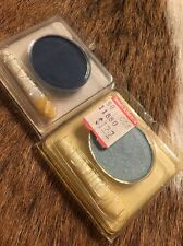 VINTAGE Revlon Eye Shadow BILLIONAIRE BLUE, CHINA BLUE FROST  CUSTOM EYES NEW