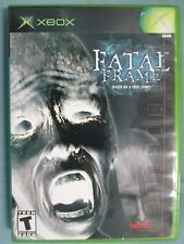 Fatal Frame (Microsoft Xbox, 2002) Complete Tested