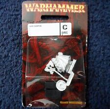 2006 Dwarf Champion Command Group Games Workshop Warhammer Lords and Heroes MIB