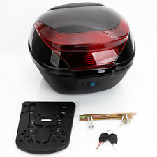 Large Universal Motorcycle Touring Scooter Tail Box Luggage Rear Trunk Top Case