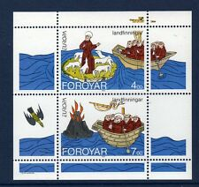 FEROE Faroe 1994 Europa  Yv Bl 7 MNH **