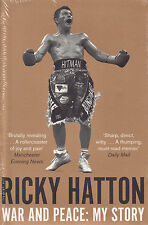 War and Peace My Story BRAND NEW BOOK by Ricky Hatton (Paperback, 2014)
