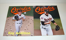 Baltimore Orioles 1997 Magazines - 1st & 2nd Editions (Jimmy Key / Mike Mussina)
