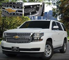 2015 Chevrolet Tahoe/Suburban E-Power Fine Mesh Upper Grille - Chrome - New