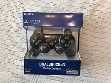 New Sony Ps3 Official Dualshock 3 Wireless Controller *Charcoal Black* for PS3