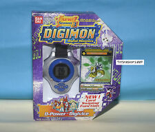 DIGIMON DIGIVICE D-POWER Renamon US VER 1.0 BLUE COL NEW With CARD RARE ONLY ONE