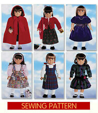 SEWING PATTERN! MAKE AMERICAN GIRL DOLL CLOTHES! FITS SAMANTHA~MOLLY~RUTHIE~KIT!