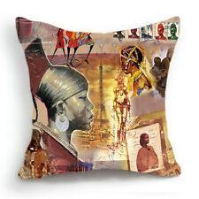 Retro Vintage African Tribe Home Decorative Pillow Case Cushion Cover 18''