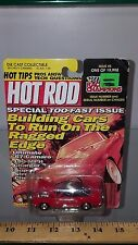 1/56 RACING CHAMPIONS HOT ROD 1967 CHEVROLET CAMARO RED with BLACK TOP B77
