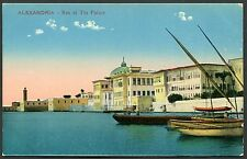 C1920's View of Ras el Tin Palace, Alexandria, Egypt