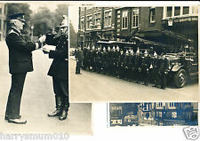Original photograph collection fire station men Harrow on the Hill 1940 s FPP