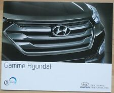 rare catalogue Gamme Hyundai (yc Veloster ix35 SantaFe)  France Sept. 2014 - 24p